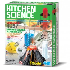 Kitchen Science - Set Ciencia en la cocina, 4M