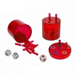 Super Six ABS Grande Rojo (2 dados)