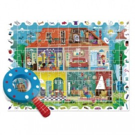 Puzzle detective My house