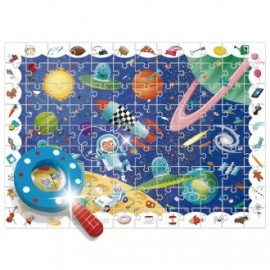 Puzzle detective In space