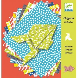 Origami 80 hojas Comics, Djeco
