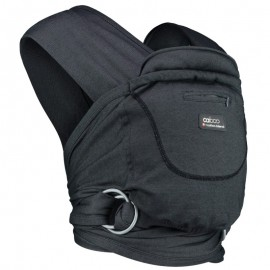 Mochila fular Caboo Carrier algodón Phantom, Close Parent